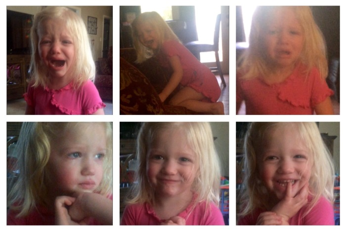 Two minutes with a Toddler: Chocolate Milk, Anatomy of a Tantrum (with video)